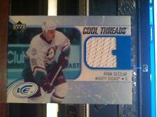 2005-06 Upper Deck Ice Ryan Getzlaf Cool Threads Jersey Card