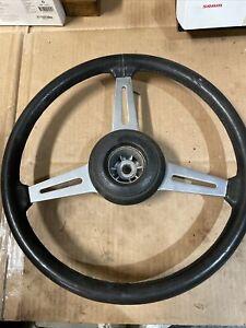 Triumph TR6 vintage steering wheel