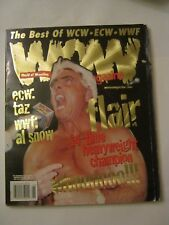 WOW Magazine - The Best Of WCW - ECW - WWF, June 1999, V-1, Issue-2 (CS-19)