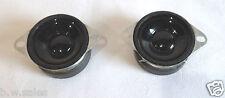 2 x haut-parleurs / tweeters 25 W 4 ohms 40mm-haute qualité avec des trous de vis-HIFI