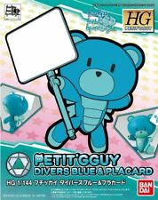 Gundam Build Fighters HG Petit'Gguy #19 Diver Blue & Placard HGPG KIT IN STOCK