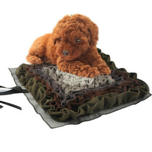 GWALSNTH Dog Snuffle Mat Washable Smell Training Blanket Pad Pet Activity Mat