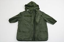 Reclaimed Vintage Men's Green 1A Military Sleeveless Coat Jacket UK SIZE S £75