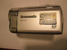 panasonic camcorder sdr-s70 s70    as is parts repair   d1.11