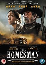 The Homesman DVD 2015 Region 2