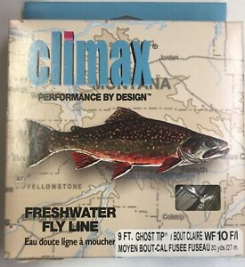 Climax Boomer WF10 F/I 9Ft Int. Clear Sink-Tip Ghost Tip