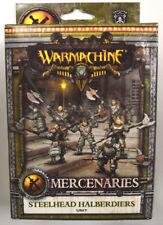Warmachine Mercenaries Steelhead Halberdiers Unit PIP 41108
