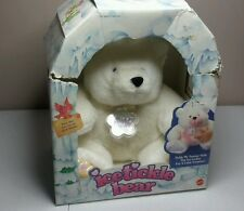 RARE Mattel Ice Tickle Bunny Plush 1993 90s Kid Toy Color Changing RETRO