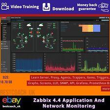 Zabbix 4.4 Application And Network Monitoring - Video Training