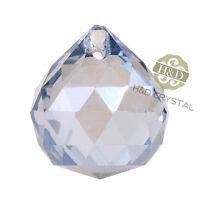 5PCS Gray Blue Crystal Chandelier Lamp Ball Prism Suncatcher Wedding Decor 20mm