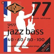 Rotosound Flatwound SM77 String Set 40-100