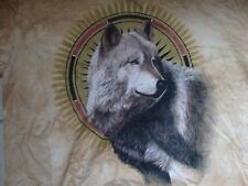 The Mountain Apparel Oklahoma Wolf T Shirt Size 2Xl