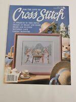 For the Love of Cross Stitch magazine May 1990 21 projects Bears Rabbit Garden