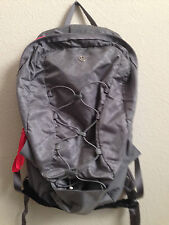 Lululemon Run from Work Backpack Gray Floral