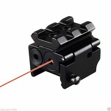New Mini Compact Red Dot Laser Sight Scope 20mm Picatinny Rail
