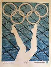 ANTHEA HAMILTON, 'DIVERS' Official Olympic Games poster, London, 2012