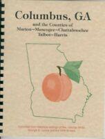 GA Columbus County Georgia Area Muscogee Marion Harris 1854 White's history +WPA