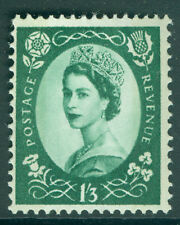 SG SPEC S146, 1s 3d green, NH MINT.  Cat £22. PHOSPHOR REACTING BLUE. CREAM