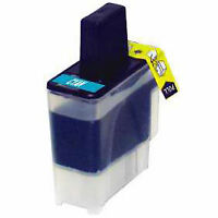 LC41C for Brother LC41 CYAN Ink Cartridge MFC-210C MFC-420 5440CN DCP-130c 845CW