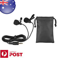 50cm Smartphone Mini Dual-Headed Interview Omni-Directional Microphone - T018