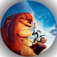 Fondant Tortenaufleger Tortenbild König der Löwen N1