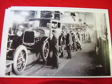 1928 FORD ASSEMBLY LINE  11 X 17  PHOTO   PICTURE