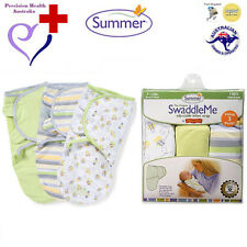 "Summer Infant SwaddleMe Swaddle 3-Pack (""Busy Bees"" 