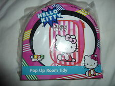 HELLO KITTY PINK KIDS POP-UP TOY / ROOM TIDY KIDZ DECOR BNIP