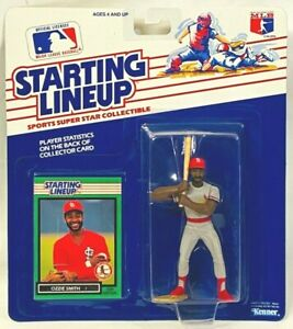 ⚾️ 1989 STARTING LINEUP - SLU - MLB - OZZIE SMITH - ST LOUIS CARDINALS - 2