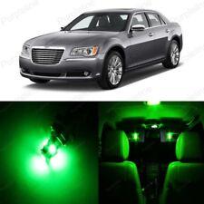 19 x Green LED Interior Light Package For 2011- 2018 Chrysler 300 300C +PRY TOOL