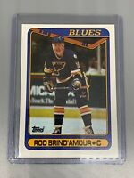 Rob Brind'Amour 1990-1991 Topps Hockey #332 St Louis Blues