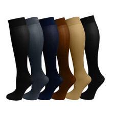 Compression Leg Sleeve Socks Stockings Graduated Support Men's Women's (S-XL) #