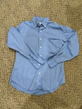 Duck Head Mens dress shirt Royal Blue Sz Small