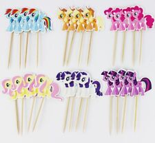 Cake Topper Figurine Figure Decoration Birthday Characters - MY LITTLE PONY set