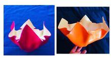 🔴 Vasi plexiglass guzzini anni 70 design L. Massoni Utopie de Tout Plastique