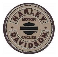 Harley-Davidson Embroidered Blank B&S Rockers Emblem Patch, SM 3.75 in EM297042