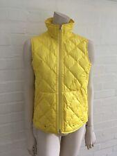 Ralph Lauren Chaleco Acolchado Abrigo Amarillo para Mujer Talla S Pequeño