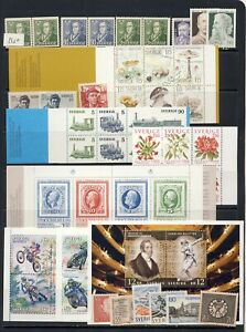 minerals,gems,fossils mnh vf collection with sets,blocks on 1 page