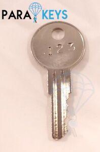 (2PCS) Cut Craftsman RH01-RH50 Toolbox Key Replacement
