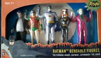 NJ Croce Collection of Batman Bendable Figures in sealed box (49)