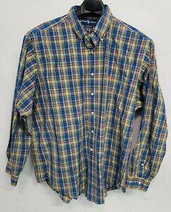Polo Ralph Lauren Shirt Long Sleeve Plaid Mens XXL 18 Colorful