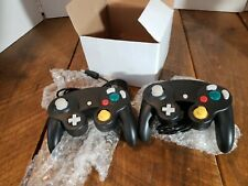 Nintendo Gamecube Controller Black Replacement Nintendo Third Party Lit Of Two 2