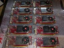 ATI RADEON HD 2400XT 256MB basso profilo PCI-e scheda grafica LAVORO LOTTO x10