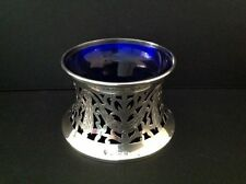Antique french sterling silver patate irlandaise plat anneau