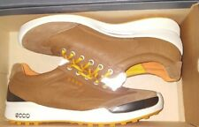 Ecco Golf Shoes BIOM Hybrid Spikeless Men's Euro Sz 40 - USA Sz 6 - 6.5 Camel