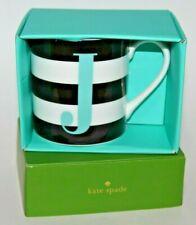"Lenox Kate Spade New York What'S In A Name ""J"" Initial Monogram 12 Oz Mug Gift"