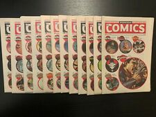 Wednesday Comics - Complete 1-12 - Neil Gaiman and Mike Allred and Tons more