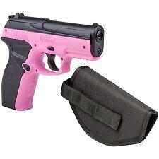 Crosman Pink P10 Wildcat .177 Caliber Semi-Auto CO2 Air Pistol with Holster 4...
