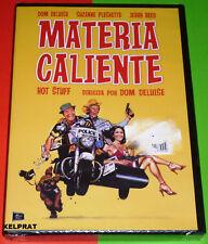 MATERIA CALIENTE / HOT STUFF Dom DeLuise - English Español - Precintada