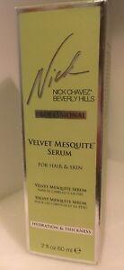 NICK CHAVEZ VELVET MESQUITE SERUM FOR HAIR & SKIN 2oz/60ml NIB